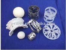 Ceramic/metal/plastic random tower packing