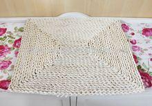 Promotion!Handmade woven cute indoor antique natural straw door mat