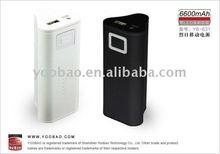 Yoobao Sunshine Power Bank YB-631 6600mah