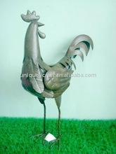 Cock Metal garden figurine