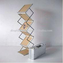 YB-ZL-A folding metal brochure shelf