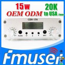FSN015 CZH-15A 15w fm transmitter rolling transmitter Sky