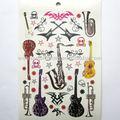 chitarra tatuaggi temporanei