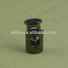 elastic zinc alloy fashion adjustable cord lock
