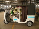 electric battery operated three wheeler