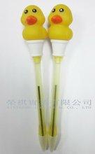 Duck Pen, lovery ducky pen, Promotional Flashing Duck Pen