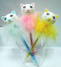 Promotional Feather Cat Pen