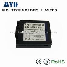 2011 news 3.7v 1000mah digital batteries Digital camera rechargeable batteries digital camera battery with high capacity