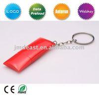 pillow shape USB flash drive/usb drive download/thin usb drive