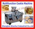 Fio de corte e depósito máquina de biscoitos