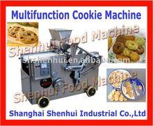 Coupe fil et dépôt biscuits machine à