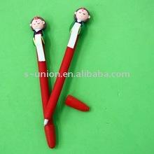 Newest handmade cute polymer clay ballpoint pen