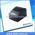58mm imprimante thermique réception pos avec cutter; imprimante de cuisine