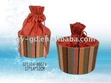 Oval Strap Gift Box, Candy Box