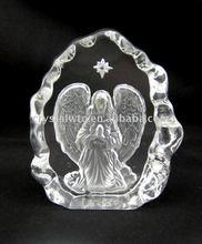The crystal Christian gift