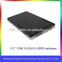 """2.5"""" USB2.0 SATA laptop hard drive caddy,support 500gb hard disk drive"""