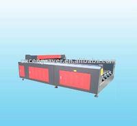 Transon Brand-new Style TS1325 CO2 Flat Bed Fabric Laser Cutting Machine Price (CE)