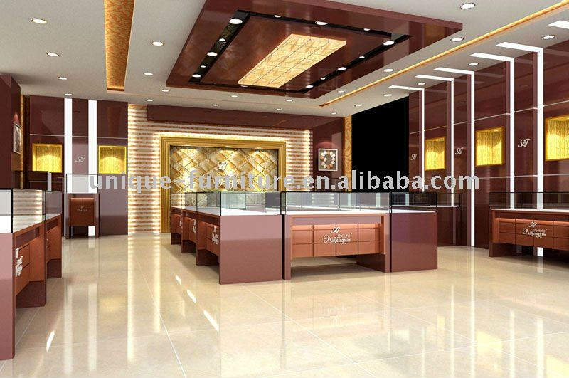 Jewelry showroom design/showroom furniture, View Jewelry showroom ...