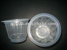 120ml slinky meihua plastic flower shape cup