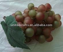 VINTAGE Decoration fruit -Matte grape two tone