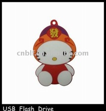 Lucky cats shape gift usb flsh drive 2gb paypal
