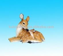 resin deer figure
