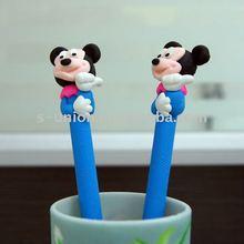Newest handmade cartoon character polymer clay ball pen