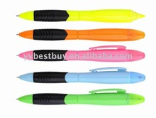 plastic multi-function 2in 1 pen