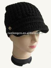lady's fashion knited hat