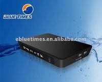Portable Realtek 1055 Mini HDD media player,Linux OS MKV Media Player