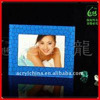 plexiglass decor photo frame / plastic picture holder / 3r artwork frame