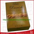 la fabricación de contenedores de chocolate