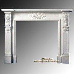 Indoor Marble Fireplace Surround FPS-C310