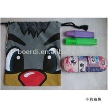RPET eyeglass pouch soft bag,eco friendly mobile phone bag