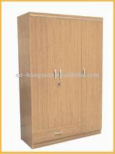 decorative laminate wooden wardrobe