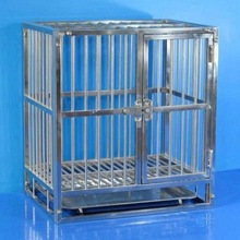 stainlees steel dog cage