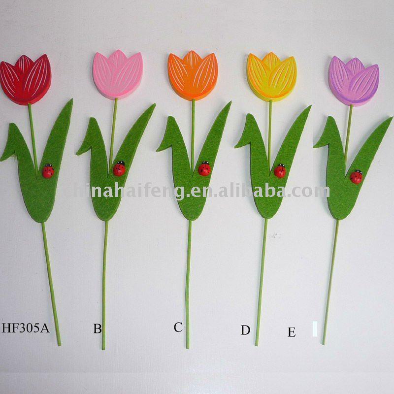 Red Tulips, Green Garden | Perennial Meadows