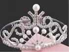 pearl rhinestone tiara
