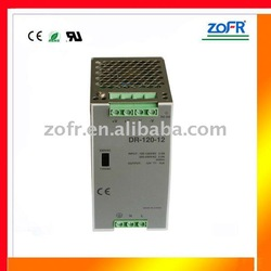 DR-120W LED power supply DIN RAIL mounting