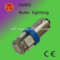 BA9S 5PCS 5050 SMD LED auto tail light