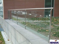 Frameless Laminated Safety Glass Fencing
