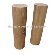 antique color of round wooden handicrafts