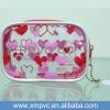 Transparent pvc beauty travel cosmetic case XYL-C370
