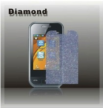 Diamond screen protector for samsung mobile phone