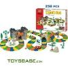 2011 Hot sale item DIY racing car track toy 258pcs