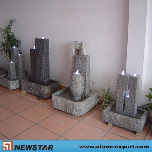 Interior de fuentes de agua productos de jard n de piedra - Fuente agua interior ...