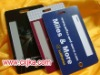 Plastic Luggage Tag with stripe