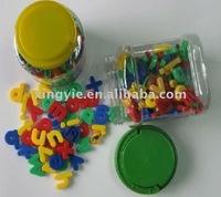 promotional ABS plastic magnetic alphabet letters for children intelligence-benefit