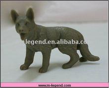 lifelike dog figure