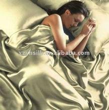 polyester satin bedding set